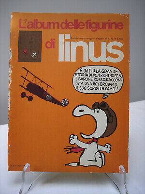 LINUS 1971 Figurina Nuova  n° 122