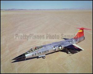 USAF-F-104-Starfighter-NACA-Edwards-1960-8x10-Aircraft-Photos