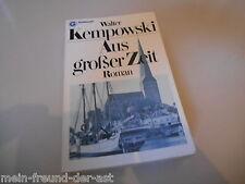 Belletristik Walter Kempowski - Aus großer Zeit (448 pg) GOLDMANN
