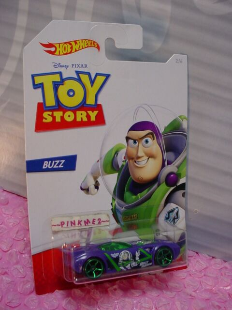 Pixar Toy Story 4 ✰ #2/6 Buzz - Nervio Martillo ✰ 2019 Hot Wheels Disney ✰