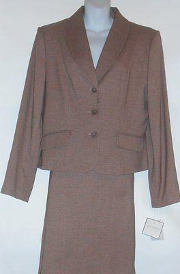 Sag Harbor Ladies Two (2) Piece Skirt Suit Blush Fourteen (14) NWT