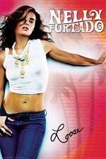 NELLY FURTADO 2007 LOOSE CONCERT TOUR OFFICIAL POSTER