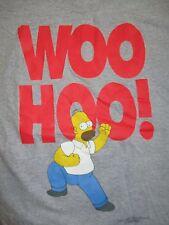"1997 HOMER SIMPSON ""Woo Hoo!"" (LG) Shirt Matt Groening The SIMPSONS"