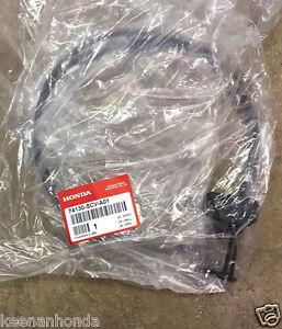 Genuine OEM Honda Civic Hood Release Cable with Brown Tan Handle 2006-2011
