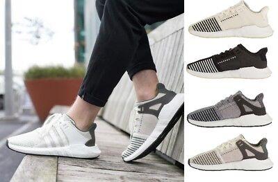 pretty nice c478f faf90 adidas Mens EQT Support 93/17 Boost Running Shoes 7 D(m) US Black
