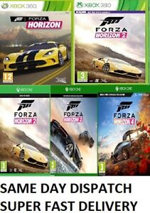 Forza-Horizon-Xbox-one-Xbox-360-Assorted-MINT-FAST-DELIVER