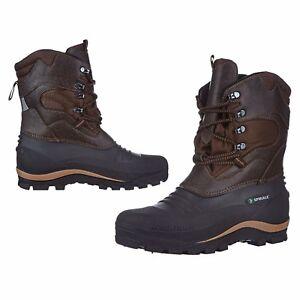 scegli il meglio design professionale reputazione prima Dettagli su Scarponi alti imbottiti, scarponcini impermeabili, boots  termici canadesi neve