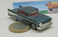 CAMIÓN 0302: Chevrolet Bel Air `57, azul met