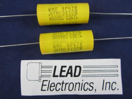 10/%  NEW PARTS QTY2    CDE PART # WMF4P47K   .47 MFD 400VDC //