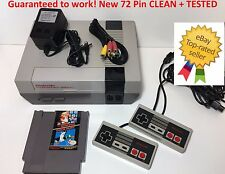 Nintendo NES Console Game Original System Bundle NEW 72 PIN Super Mario Bros.