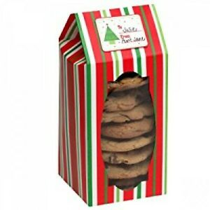 Christmas Cookie Boxes - Pack of 6 including gift tags!