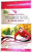 Vitamin B12 X-Treme PATCH Energy Booster C B6 Guarana Niacin B3 Absonutrix Red