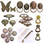 Euro Vintage Butterfly Cabinet Handles Kitchen Furniture Chest Drawer Pull Knobs