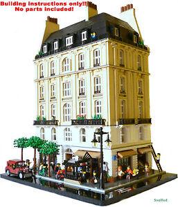 Lego-avenue-Saint-Jacques-Bauanleitungen-nur-keine-Teile