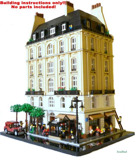 LEGO Avenue Saint-Jacques BUILDING INSTRUCTIONS ONLY!! NO PARTS!!