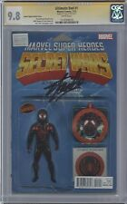 Ultimate End #1 Action Figure variant__CGC 9.8 SS__Signed by Stan Lee