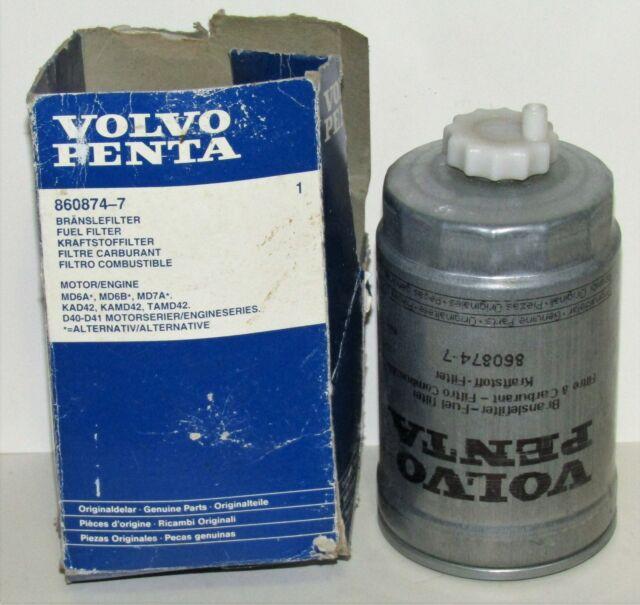 Volvo Penta Fuel Filter 860874-7 8608747 860874 for sale online | eBay | Volvo Boat Fuel Filter Location |  | eBay