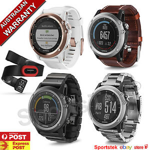 watches ebay training fenix watch itm band multi water garmin running triathlon sport fitness gps hr