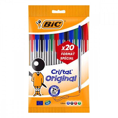 5 Gratis Bic Kugelschreiber Medium Strichstärke 1,0mm Rot Blau Grün schwarz 15