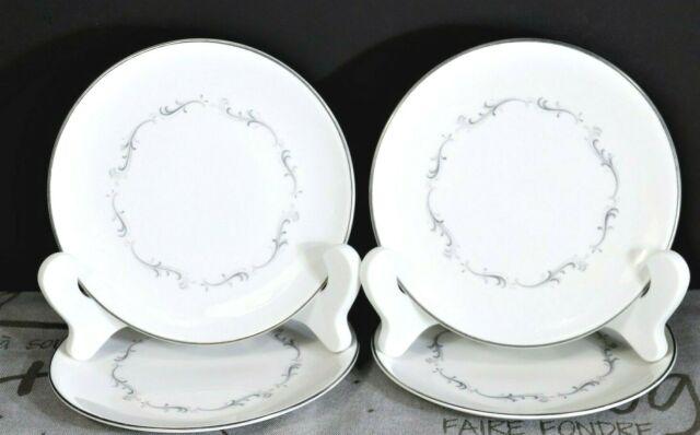 "LOT(s) of 4 Royal Doulton CORONET 6 1/4"" Bread Plates H4947 Fine Bone China"
