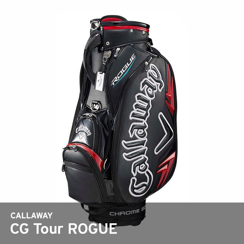 Callaway 2018 CG  Tour Rogue Caddie Bolsa Cochero 9.5In 5Way 13lbs Negro PU libre EMS  conveniente