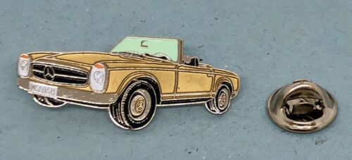Mercedes Benz PIN Pagode Sl w113 Golden laqué disque en couleur-Dimensions 39x17mm