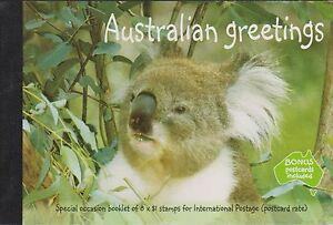 Australia prestige booklet 2003 australian greetings koala sp14 ebay image is loading australia prestige booklet 2003 australian greetings koala sp14 m4hsunfo