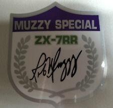 KAWASAKI ZXR 750 ZX-R7 750 ZX-7 ZX7RR Ninja Rob Muzzy especial calcomanía Crest