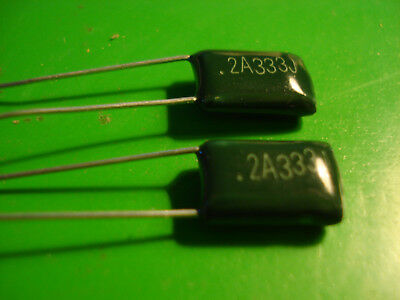 Capacitor 2A333J 100V .033uF Polyester Film  in Canada