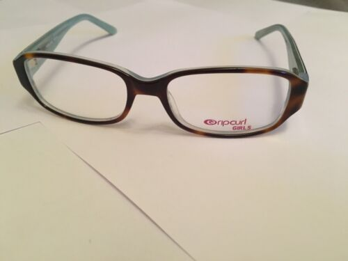 Kids Girls Rip Curl Glasses In A Brown and Sky Blue Design VOA130 NEW RRP £79