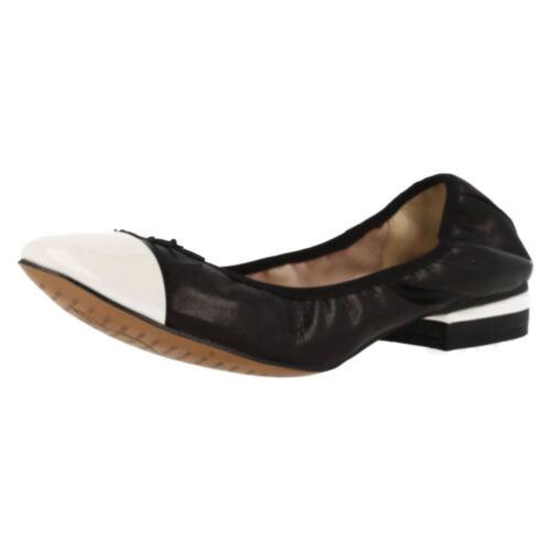 Da Clarks In Ballerina Scarpe Svampito Donna Slip Pelle Abito Saldo Stile On TrTa7xqw