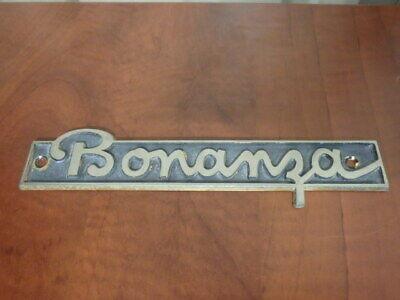 Details about  /Beechcraft Bonanza B36TC Airplane Emblem Design Faux Leather Key Ring