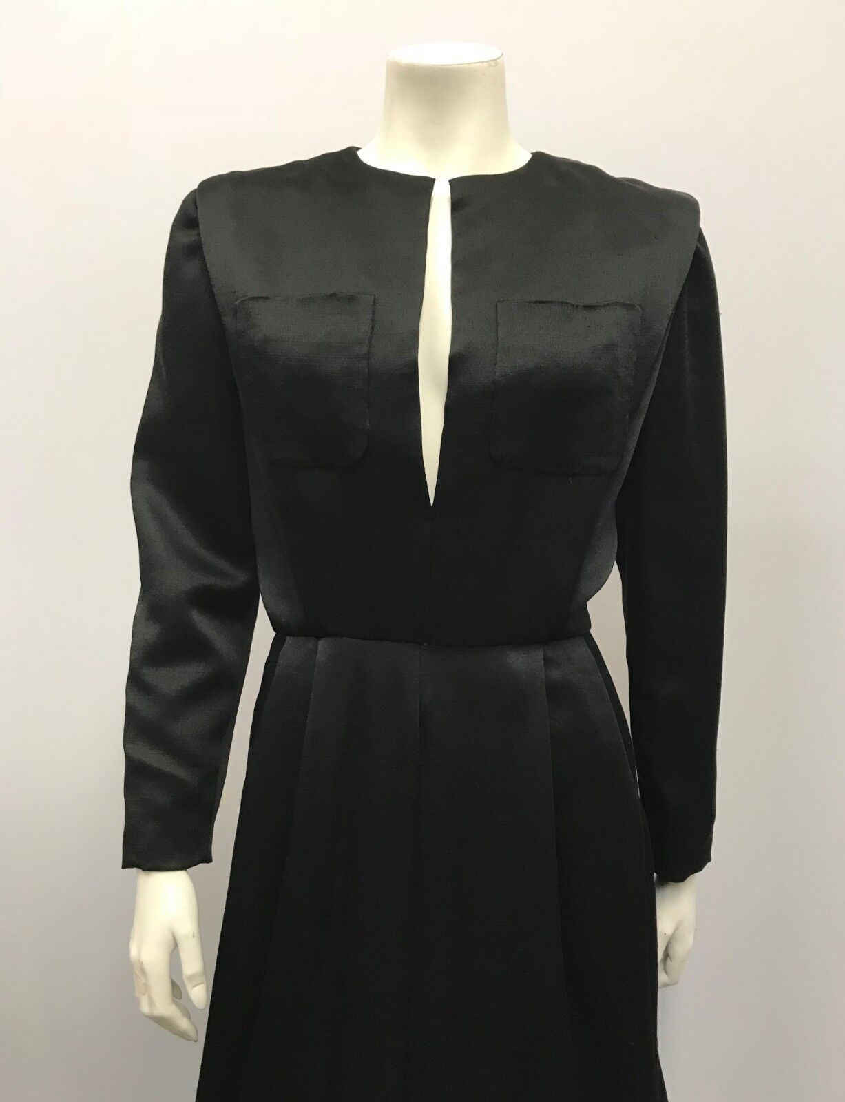 VINTAGE SCAASI BOUTIQUE DRESS COCKTAIL DRESS BLAC… - image 5