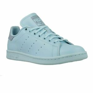 sale retailer 30e6b c7ad2 Details about Adidas Stan Smith Juniors Ice Blue BY9983 Youth NEW