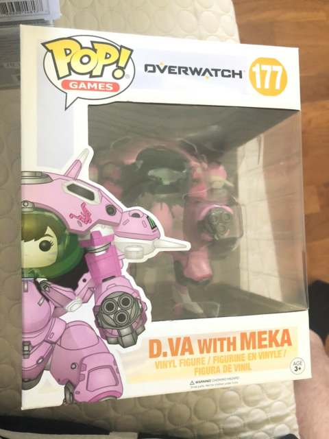 Legetøj, Funko POP figurer, D'va = 150kr  Pickle rick =…