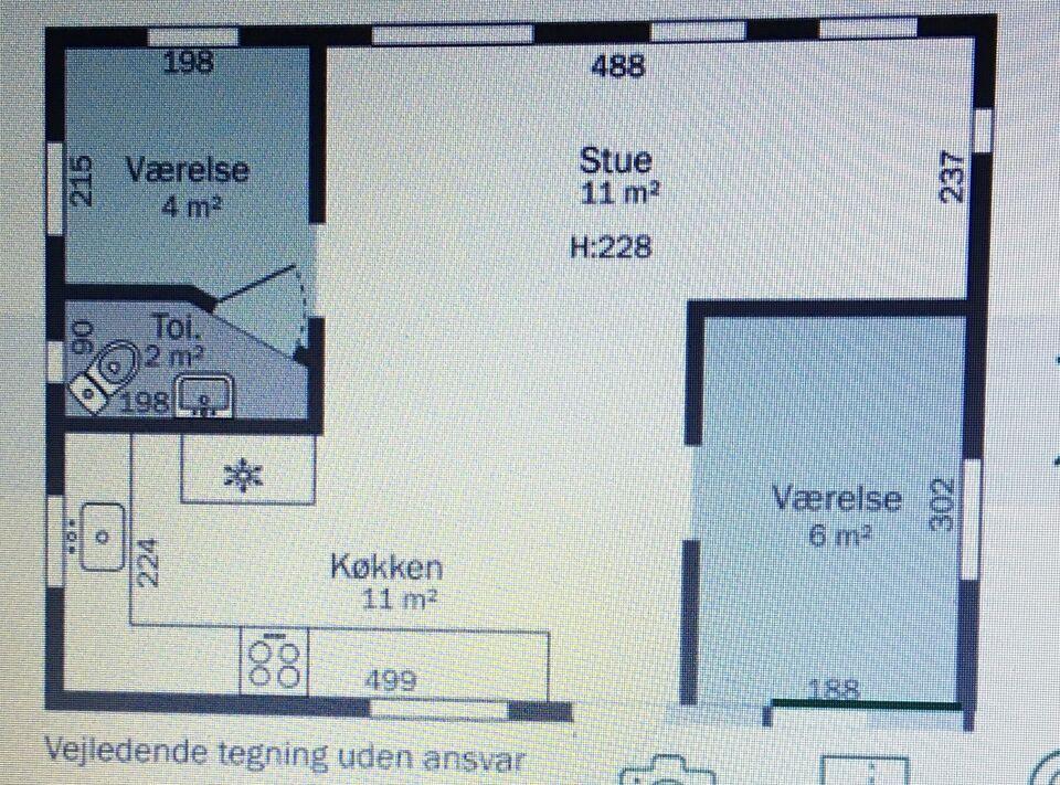 Kolonihave, 40 m2 bolig, 750 m2 grund