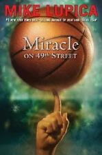 MIRACLE ON 49TH STREET by Mike Lupica FREE SHIPPING paperback children's book