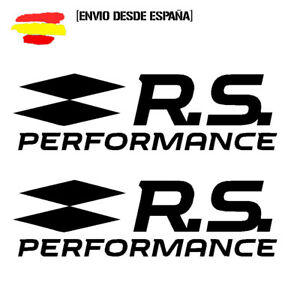 2-Pegatinas-vinilo-sticker-renault-sport-rs-performance-elige-tu-tamano-y-color