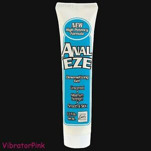 Anal numbing lube