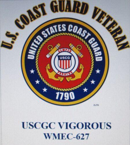 USCGC ALERT  WMEC-630* CUTTER  U.S.COAST GUARD VETERAN EMBLEM*SHIRT