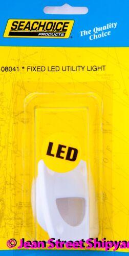 Marine Boat RV White Flush Mount LED Courtesy Accent Companion Way Utility Light