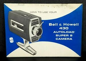 ORIGINAL Bell /& Howell 310F and 312DF ZOOM 8mm camera Manual Instructions Book