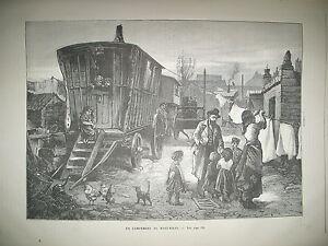 CAMPEMENT-DE-BOHEMIENS-SUMATRA-ASSASSINAT-M-WALLON-EGYPTE-DOSEH-GRAVURES-1890