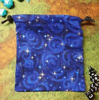 Blue Starry Sky Dice Bag