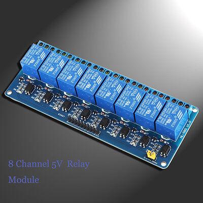 New 8 Channel 5V Relay Module Board Shield For PIC AVR DSP ARM MCU Arduino