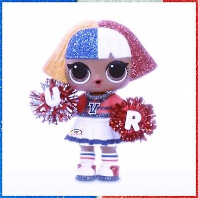 Lol Surprise Doll All Star Bb S Series 2 Shapes Varsity Pups Red Bbs New Sealed Ebay
