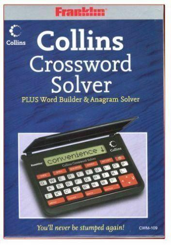 Cwm109 Collins Crossword Solver Franklin