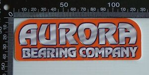 VINTAGE-AURORA-BEARING-COMPANY-CAR-RACE-SPONSOR-ADVERTISING-PROMO-STICKER
