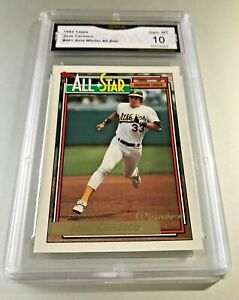 JOSE-CANSECO-ALL-STAR-1992-Topps-GOLD-WINNER-401-GMA-Graded-10-Gem-Mint