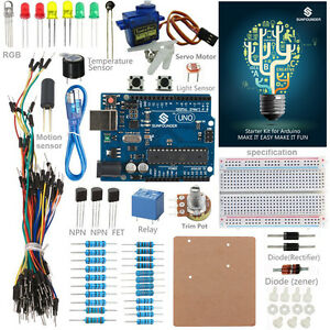 Details about Ultimate UNO R3 Servo Project Starter Kit For Arduino  Mega2560 Mega 328 Nano